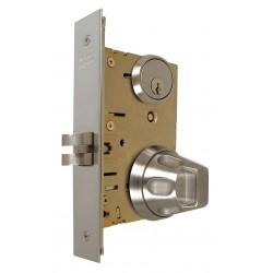 Macsim - 5SS55D/32D - Office 5SS55-Series Antiligature Mortise Lockset, Satin Stainless Finish