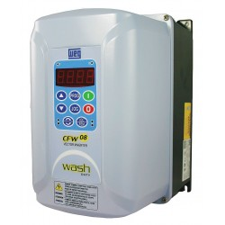 Weg - CFW080100BDN4A1Z - Variable Frequency Drive, 3 Max. HP, 1 or 3 Input Phase AC, 240VAC Input Voltage