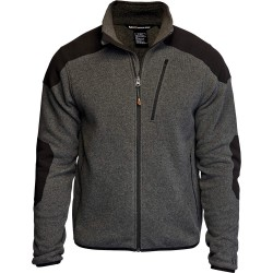 5.11 Tactical - 72407 - Tactical Full Zip Sweater, L Fits Chest Size 44, Gun Powder Color