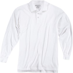 5.11 Tactical - 72057 - Utility Long Sleeve Polo, XL, White