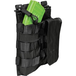 5.11 Tactical - 56159 - Bungee Cover Pouch, Black, AK Mags