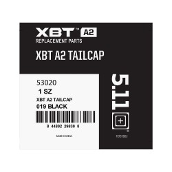 5.11 Tactical - 53020 - XBT A4 Flashlight Replacement Tailcap, Black for Mfr No. 90097-400