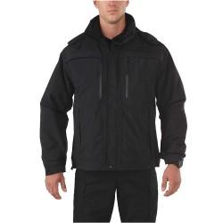 5.11 Tactical - 48153 - Valiant Duty Jacket, L Fits Chest Size 44, Black Color