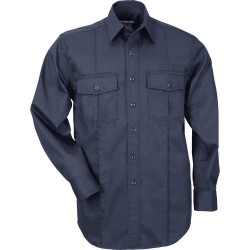 5.11 Tactical - 46123 - Mens S/S A-Class Station Shrt, S, Fire Nvy