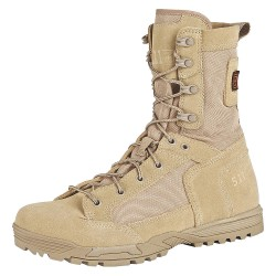 5.11 Tactical - 12320 - 8H Men's Skyweight Boots, Plain Toe Type, Rough Out Suede, 1200D Nylon Upper Material, Coyote, Size