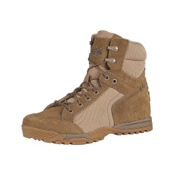 5.11 Tactical - 12319 - 6H Men's Pursuit Advance Boots, Plain Toe Type, Distressed Leather and Suede, Wax Coated 1200D Nylo