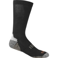 5.11 Tactical - 10013 - Unisex Over-the-Calf Socks, Black, 1 PR