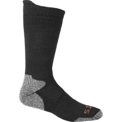 5.11 Tactical - 10012 - Unisex Crew Socks, Black, 1 PR