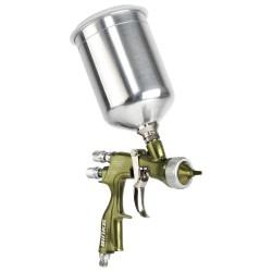 Binks - 2466-14LV-23SG - Conventional Spray Gun, Mdm, Gravity, 30 oz