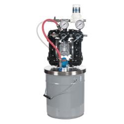 Binks - GEM2-P2D1D60 - DBL Diaphragm Pump, 5 gal., 100 psi