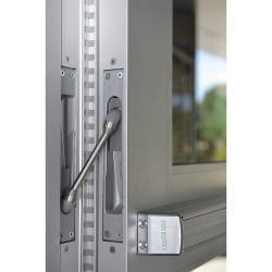 Ives / Ingersoll Rand Security - 157XY 83IN US28 - 180 Continuous Hinge With Holes, Pewter Finish, 83 x 1-1/4