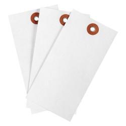 Brady - 102036 - Blank Tag, White, Height: 4-3/4 x Width: 2-3/8, 1000 PK