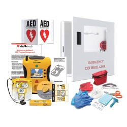 Defibtech - CCD-A1015EN-AA - AED Starter Kit, Includes 1yr Prgm Mgt
