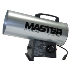 Master Caster - MH-40-GFA - 18-7/64 x 7-7/64 x 13 Forced Air Heater with 1100 sq. ft. Heating Area