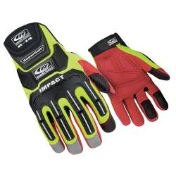 Ringers Gloves - 146-12 - Anti-Vibration Gloves, 2XL, Hi-Vis Grn, PR