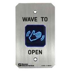 Essex Electronics - HEW-2 - Essex Electronics Hand-E-Wave Stainless Steel Hands Free Switch - Single Gang - Gray - Stainless Steel - For Hospital, Clean Room, Commercial, Food Processing Plant