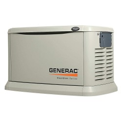 Generac - 6730 - Generac 6730 Generator, 20kW, Automatic, Home Standby, Guardian, Air Cooled