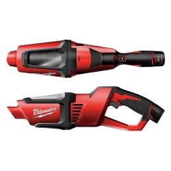 Milwaukee Electric Tool - 0850-20 - 12.0V M12 Cordless Vacuum with 0.63 qt. Tank, Polyethylene Terephthalate Filter Type