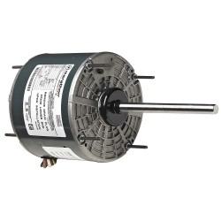 Marathon Electric / Regal Beloit - 048A11T2008 - 1/6 HP Condenser Fan Motor, Permanent Split Capacitor, 1075 Nameplate RPM, 208-230 Voltage, Frame 48Y