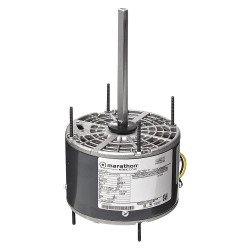 Marathon Electric / Regal Beloit - 048A11O1097 - 1/5 HP Direct Drive Blower Motor, Permanent Split Capacitor, 1075 Nameplate RPM, 208-230 Voltage