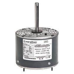 Marathon Electric / Regal Beloit - 048A11T509 - 1/3 HP Direct Drive Blower Motor, Permanent Split Capacitor, 1075 Nameplate RPM, 208-230 Voltage