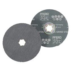 Pferd - 61950 - 5 Coated Quick Change Disc, 36, Extra Coarse, Ceramic, 25 PK