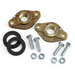 Armstrong International - FLANGE LF BRZ 0.75' NPT F2+HWKIT - Lead Free Bronze Flanged Kit, 3/4 NPT Pipe Size (In.)