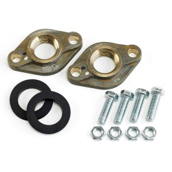 Armstrong International - FLANGE LF BRZ 1' NPT FS2+HWKIT - Lead Free Bronze Flanged Kit, 1 NPT Pipe Size (In.)