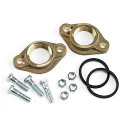 Armstrong International - FLANGE LF BRZ 1.5' NPT F2+HWKIT - Lead Free Bronze Flanged Kit, 1-1/2 NPT Pipe Size (In.)