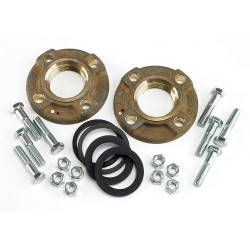 Armstrong International - FLANGE LF BRZ 2' NPT F4+HWKIT - Lead Free Bronze Flanged Kit, 2 NPT Pipe Size (In.)