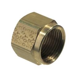 Anderson Metals - 1461X532 - Nut, Compression, Brass, 150psi