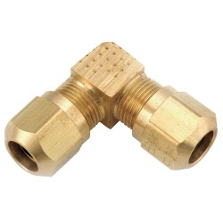 Anderson Metals - 1465X8 - Union Elbow, Compression, Brass, 1/2In Tube