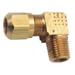 Anderson Metals - 00849-0202 - Connector, Male, Brass