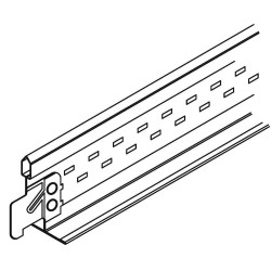Armstrong Tools - ML7343 - Ceiling Tile Suspension System Cross Tee, 1-11/16 x 15/16 x 48, White, 1EA