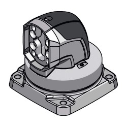 Rittal - 6206700 - Surface Mounting Coupling, For Use With Support Arm System 60 Parts