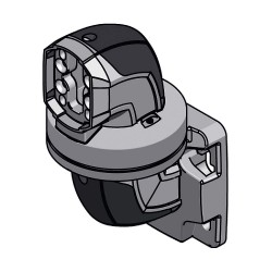 Rittal - 6206740 - Surface Mounting Coupling, For Use With Support Arm System 60 Parts