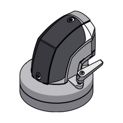 Rittal - 6206380 - Enclosure Coupling, For Use With Support Arm System 60 Parts