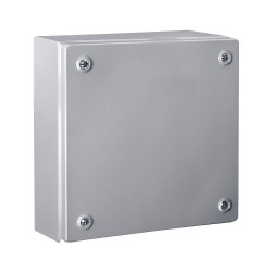 Rittal - 1500510 - 6.00 x 6.00 x 5.00 Carbon Steel Junction Box Enclosure