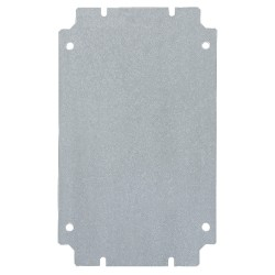 Rittal - 1572700 - Mounting Panel, Carbon Steel, For Use With: Mfr. No. 1512510, 1540510
