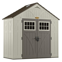 Suncast - BMS8400 - Outdr Storage Shed, 100-1/2inWx52-3/4inD