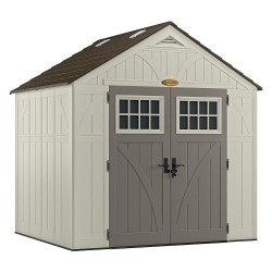 Suncast - BMS8700 - Outdr Storage Shed, 100-1/2inWx85-3/4inD