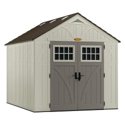 Suncast - BMS8100 - Outdr Storage Shed, 100-1/2inWx122-1/4inD