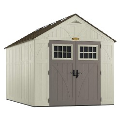Suncast - BMS8130 - Outdr Storage Shed, 100-1/2inWx158-3/4inD