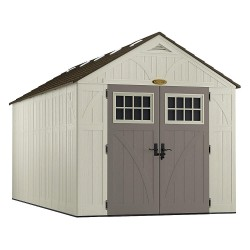 Suncast - BMS8160 - Outdr Storage Shed, 100-1/2inWx195-1/4inD