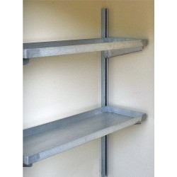 Justrite - 915105 - Shelving Kit, For Use With Only 16 Drum Lockers Without Explosion Relief Panels