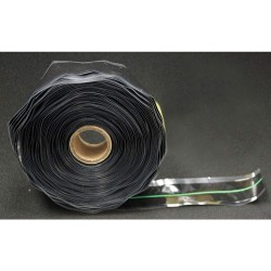 Er Tape - GL40B67G00 - 1W Silicone Rubber Triangle Self Fusing Tape, Black/Green, 432 Length