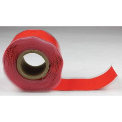 Er Tape - GL20R676BI - 1W Silicone Rubber Self-Fusing Tape, Red, 144 Length