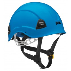 Petzl - A10BBA - Blue Rescue Helmet, Shell Material: ABS, 6-Point Webbing Suspension, Fits Hat Size: 6-3/8 to 7-7/8