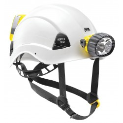 Petzl - A10BWE - White Work-at-Height and Rescue Helmet, Shell Material: ABS, 6-point Webbing Suspension, Fits Hat Si