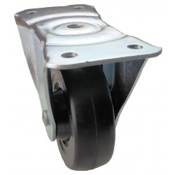 Other - 01RR04141RG - 4 Light-Duty Rigid Plate Caster, 225 lb. Load Rating